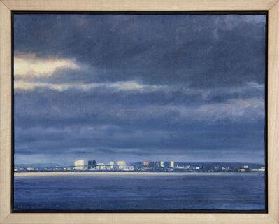 """William Glen Crooks, '""""San Diego Bay""""', 2015"""