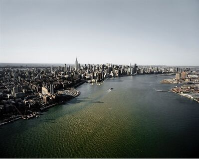 Michael Light, 'Manhattan and the East River Looking Northwest, 15th Street ConEd Generator Station at Left, NY.', 2007