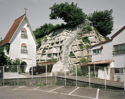 Julien Guinand, 'Église baptiste de Nachikatsuura, préfecture de Wakayama, péninsule de Kii', 2017