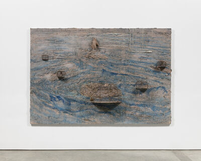 Anselm Kiefer, 'I am holding all of India in my Hand / Ich halte alle Indien in meiner Hand', 2003