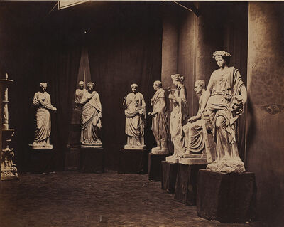 Charles-Louis Michelez, 'Sculptures Exhibited at the Exposition Universelle of 1867, Paris', 1867/1867