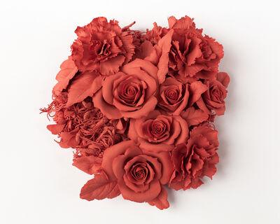 Noemi Iglesias, 'Sin título - Seri Rebel Heart - 5 - Rosas y claveles', 2019