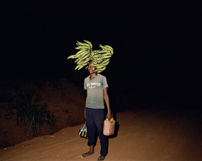 Deana Lawson, 'Walking Home on Some Road, Gemena DR Congo', 2015
