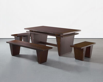 Thomas Schütte, 'Table and Benches', 2005