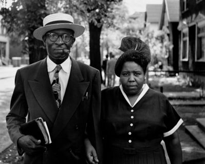 Gordon Parks, 'Husband and Wife on Sunday Morning, Fort Scott, Kansas', 1949