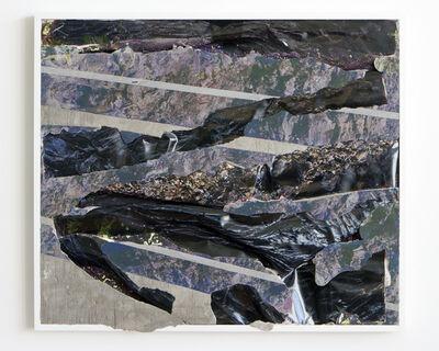 Letha Wilson, ' Black Lava Concrete Bend  ', 2014