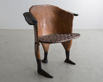 "Babacar Niang, 'Sculptural ""Peaux Tendres"" Chair ', 2014"