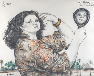 Enrique Grau, 'Untitled (Portrait of Nubia)', 1981