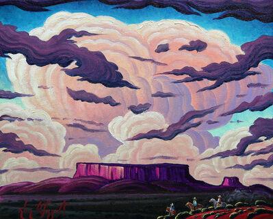 "Kim Wiggins, ' ""Riding The Land Of Yaz""', 2017"
