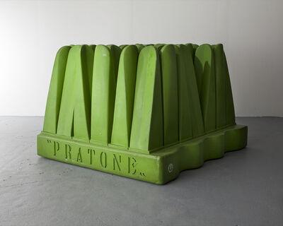 "Pietro Derossi, '""Pratone"" lounge chair ', 1986"