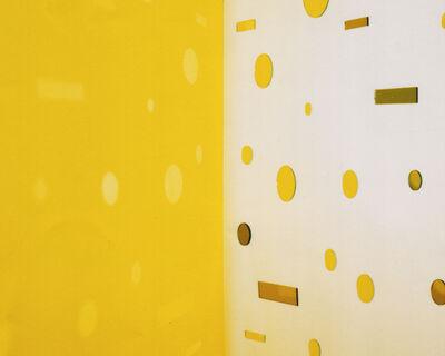 Jacky Redgate, 'Light Throw (Mirrors) Fold - Yellow', 2016