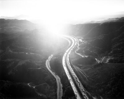 Michael Light, 'Golden State Freeway Looking Southeast Over San Fernando Pass', 2004