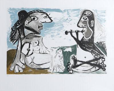 Pablo Picasso, 'Femme Assise et Joueur de Flûte, 1967', 1979-1982