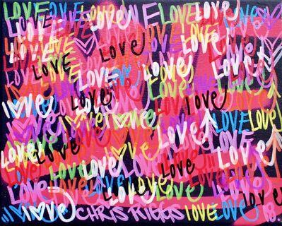 CHRIS RIGGS, 'Love Canvas 3', 2018