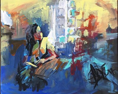 Mariam Qureshi, 'Cafe vibes ', 2017