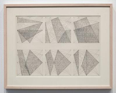 Jack Tworkov, 'Six Studies for Paintings', ca. 1977