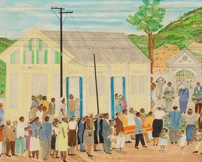 Sénèque Obin, 'Funerailles de Soeur Arnold', 1960