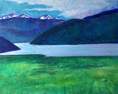 Randa Dubnick, 'Mountains and Lake', 2020