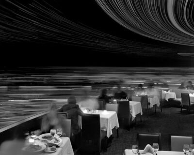 Matthew Pillsbury, 'Dinner at Cloud 9, Revolving Restaurant, Vancouver', 2009
