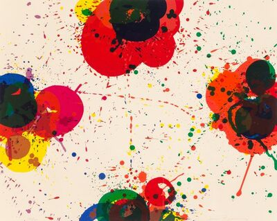 Sam Francis, 'Red Again', 1972