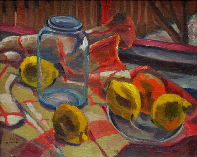 Frederick Hagan, 'Lemons at the Studio Window', 1938