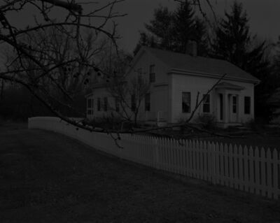 Dawoud Bey, 'Night Coming Tenderly, Black: Untitled #20 (Farmhouse and Picket Fence I)', 2017