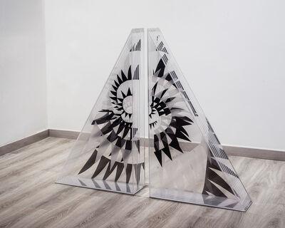 Brigita Huemer, 'Time spirals, sculpture', 2018
