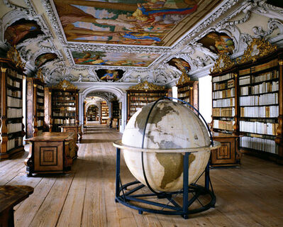 Massimo Listri, 'Biblioteca del Abbazia di Kremsmunster, Germany', 1994