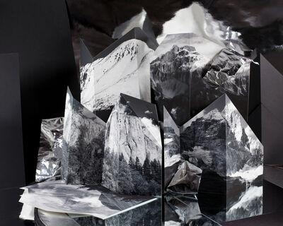 Anastasia Samoylova, 'Black and White Mountains', 2015
