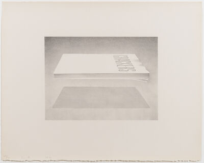 Ed Ruscha, 'Crackers, from the Book Cover series', 1970