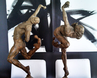 Richard MacDonald, 'Leap of Faith and Blind Faith (THIRD-Life)', 2008