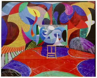 David Hockney, 'Painted Environment #3', 1993