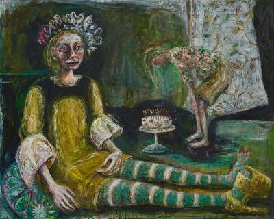 Rebecca Swainston, 'Birthday cake ', 2018