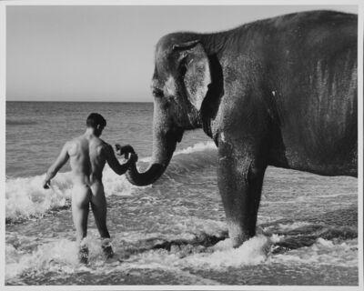 Bruce Weber, 'Tara and her pal Chris, San Onofre, CA', 1998