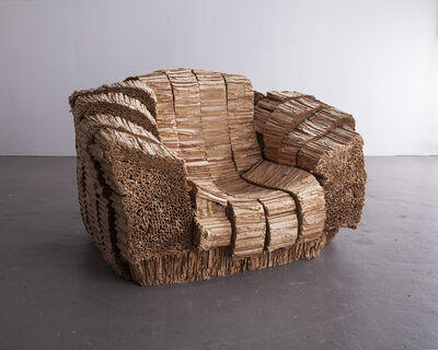 """Frank Gehry, '""""Big Beaver"""" armchair. Designed by Frank Gehry, 1987, produced by Vitra since 1994.', 1987"""
