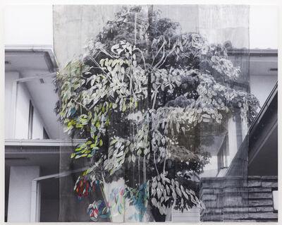 Kei Takemura, 'Between Tree, Ghost has come', 2011