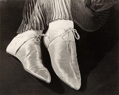 Ilse Bing, 'Gold Lame Shoes, Paris', 1935