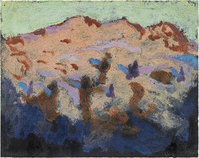 Alfons Walde, 'Mountains at dawn', ca. 1922