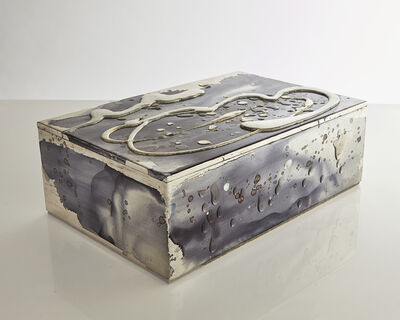 Nancy Lorenz, 'White Gold, Silver, and Mother of Pearl Box', 2015-2019