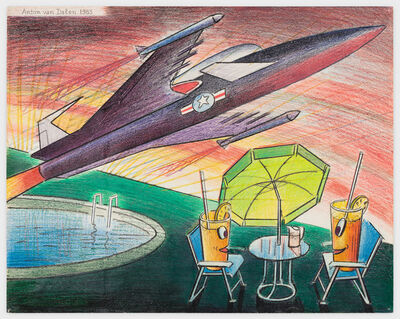 Anton van Dalen, 'Science Fiction #1', 1983