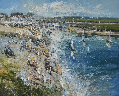 Chris Prout, 'Play - Burnham Overy Staithe', 2020