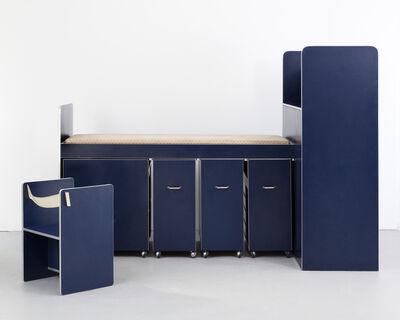 "Joe Colombo, '""Living System Box 1"" compact living environment', 1968"