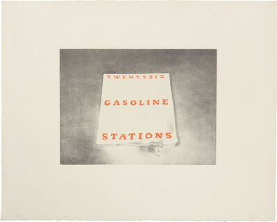 Ed Ruscha, 'Twentysix Gasoline Stations, from Book Covers', 1970