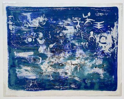 Zao Wou-Ki 趙無極, 'Jardin la Nuit (Garden at Night)', 1954