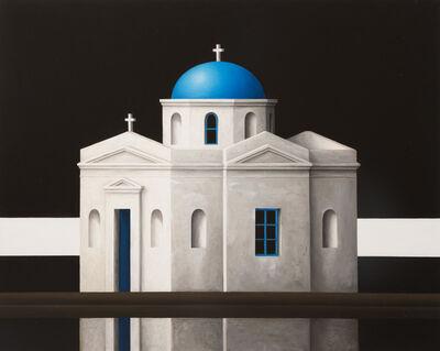 Renny Tait, 'Mykanos Blue Dome Black Sky', 2017