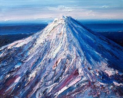 Holly Zandbergen, 'Mt Taranaki in Winter', 2017