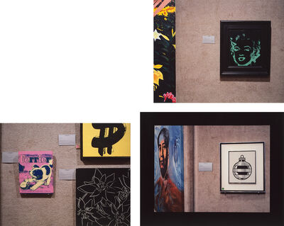 Louise Lawler, 'Untitled (Marilyn); Untitled (three Warhols); and Untitled (Mao/Lichtenstein)', 1990-91