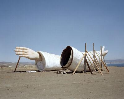 Yvonne Venegas, ' Desde la línea (Brazos de Cristo)', 2003