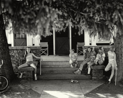 """Sally Mann, 'Untitled from the """"At Twelve"""" Series, Jessie Manuel on Porch', 1983-1985"""