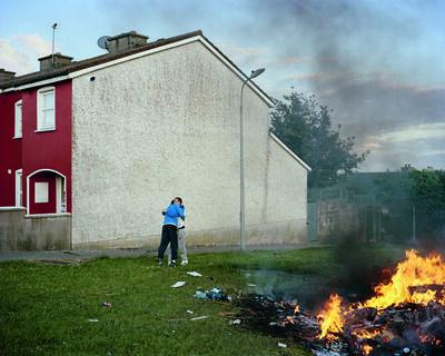 Doug DuBois, 'Bonfire I, Russell Heights, Cobh, Ireland', 2011